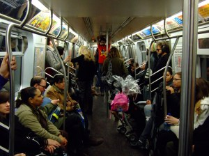 subway seating